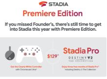 Google Stadia : rupture de stock pour la Founder's Edition !