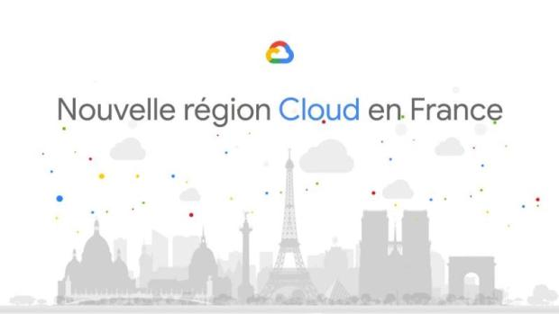 Les infrastructures Google Cloud arrivent en France !