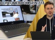 Découverte du Acer Chromebook Spin 713 en vidéo !