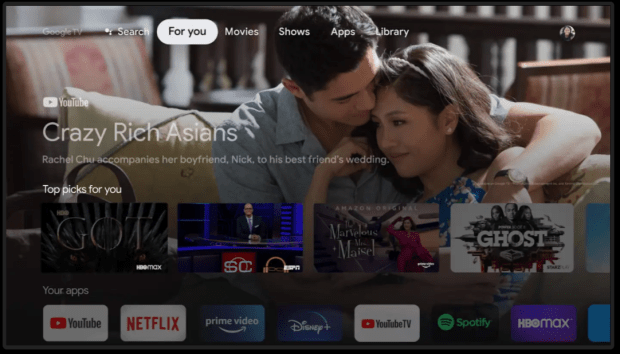 Kaleidoscope : Google TV directement Google Chrome ?
