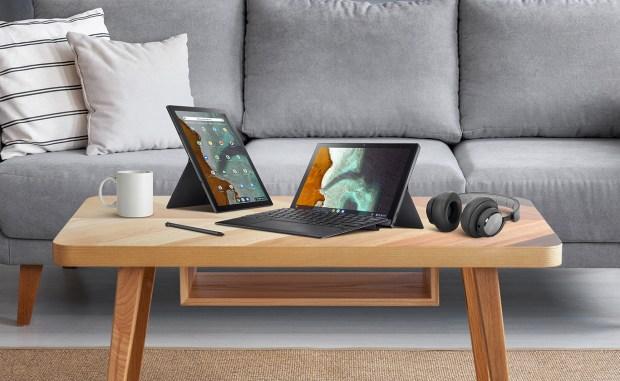 Une page produit dédiée pour le Asus Chromebook Detachable CM3 !