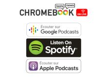 Chromebook On Live : date du prochain épisode et disponibilité sur les plateformes de Podcasts !