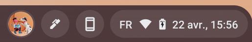 Chrome OS : la date du jour en cours d'implémentation sur l'étagère (enfin) !