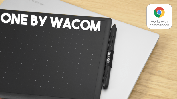 Works with Chromebook : vidéo test de la tablette graphique One By Wacom !