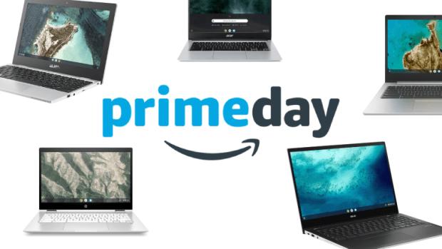 Amazon Prime Day 2021 : jusqu'à 24% de réduction sur les Chromebooks pendant 2 jours !