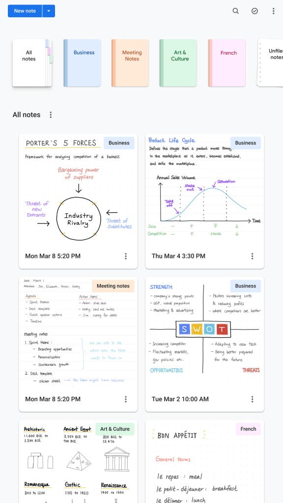 Cursive : la nouvelle application Made By Google pour la prise de notes sur Chromebook !