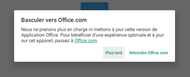 Microsoft ne va plus maintenir les applications Office sur Chrome OS !