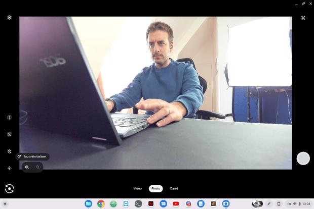 Comment profiter d'une caméra PTZ sur Chromebook ?
