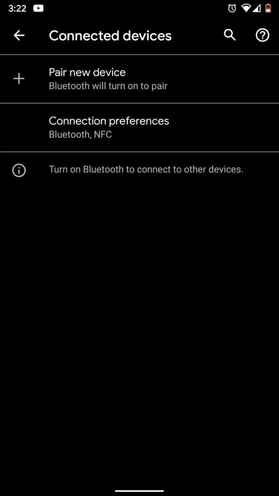 Connection Preferences