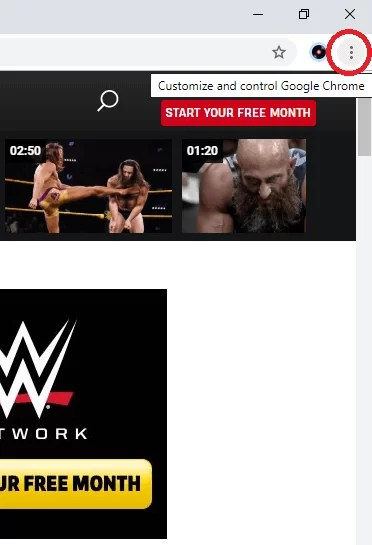 WWE on Chromecast