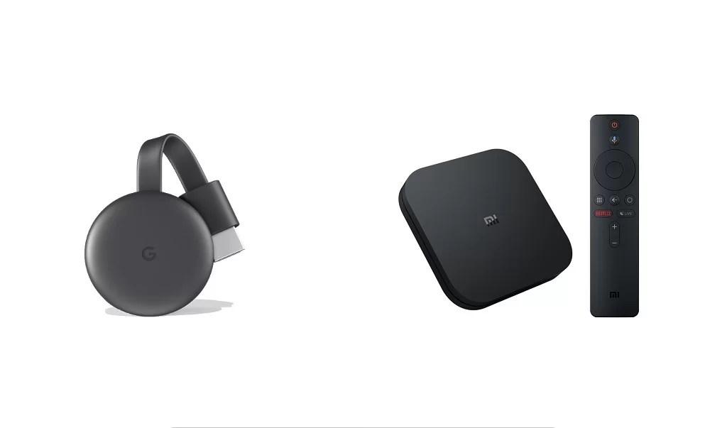 Chromecast vs MI Box – Comparison and Review