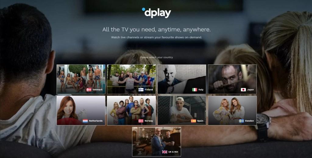 dplay website