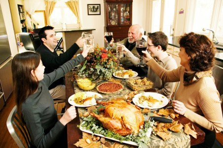 Surviving your family at Thanksgiving is not made any easier by your drunk uncle