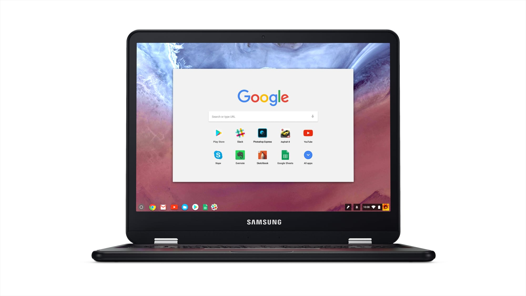 01_Chromebook_Hero_Shot_Front_forward_facing_Screen_A