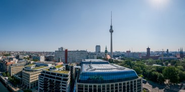View from the Berliner Dom, Berlin