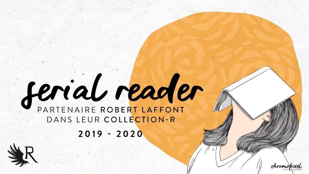Partenariat littéraire serial R-eader Robert Laffont