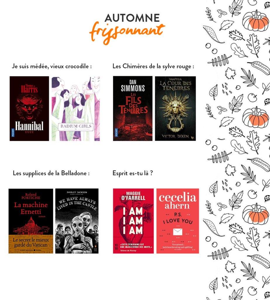 Pumpkin Autumn Challenge 2020 : Automne frissonnant