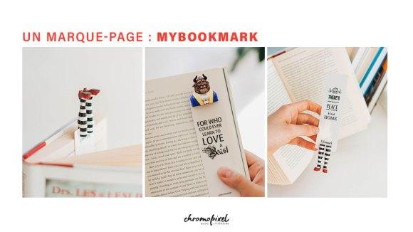 10 idées de cadeau pour les amoureux des livres Un marque-page : MYBOOKMARK