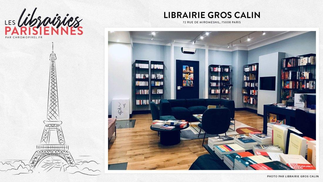 TOP 5 : Les librairies parisiennes à découvrir Librairie Gros Calin