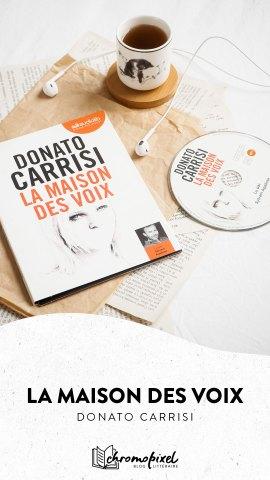 La maison des voix de Donato Carrisi
