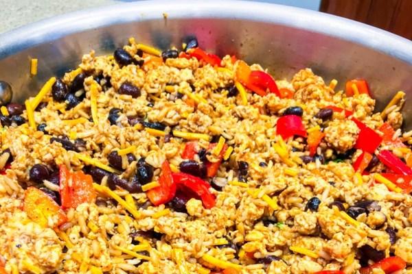 Cheesy Mexican Chicken Skillet - Chronically Gluten Free