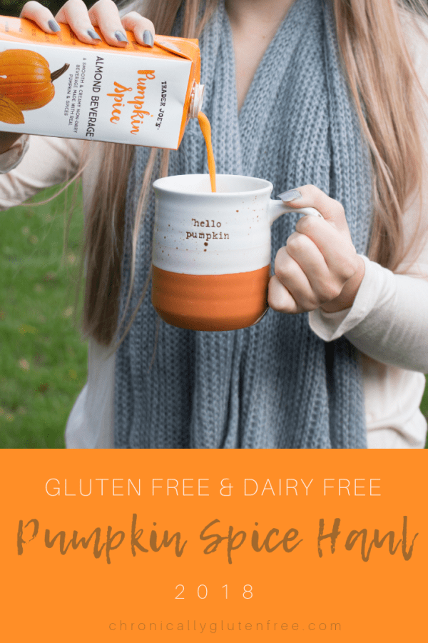 Pumpkin Spice Haul 2018 - All Gluten Free and Dairy Free! - Chronically Gluten Free