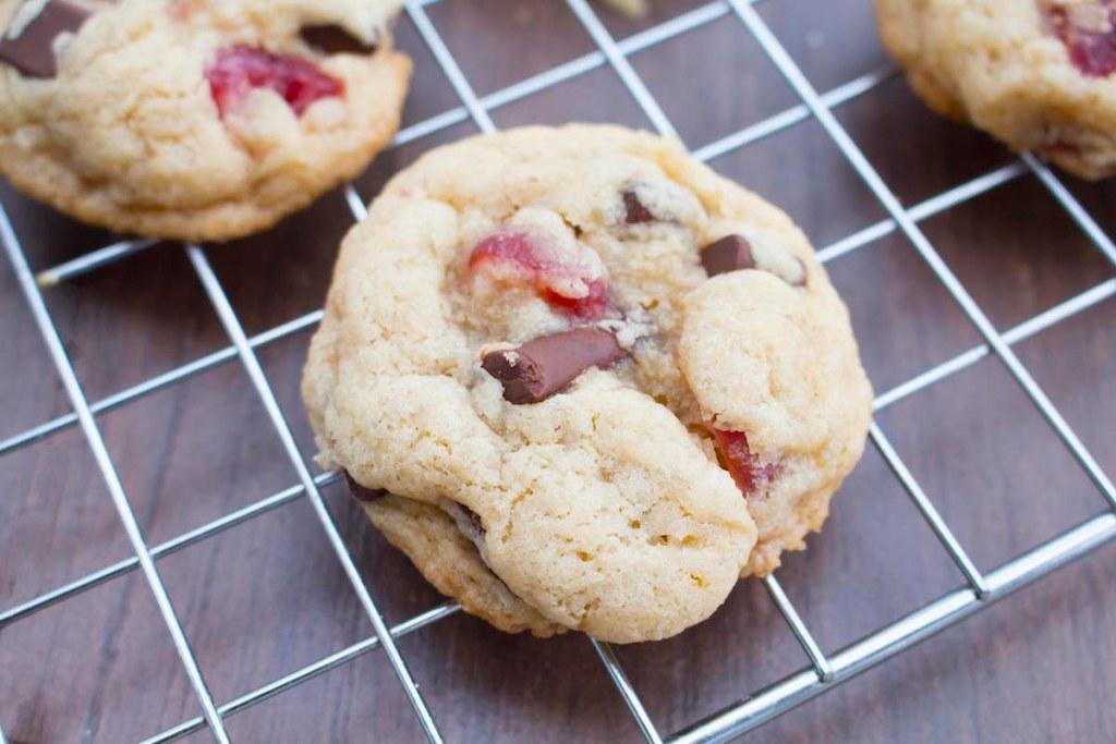 Cherry Chocolate Chunk Cookies – Vegan, Gluten Free, Dairy Free & Soy Free
