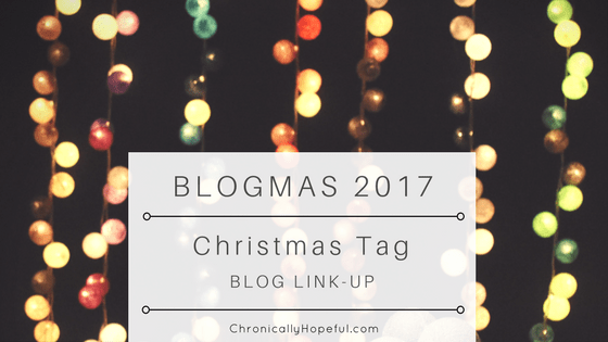Blogmas 2017 Christmas Tag