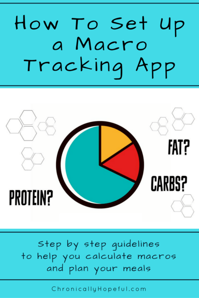 Setting up a macro tracker. MyFitnessPal, Cronometer, Keto.