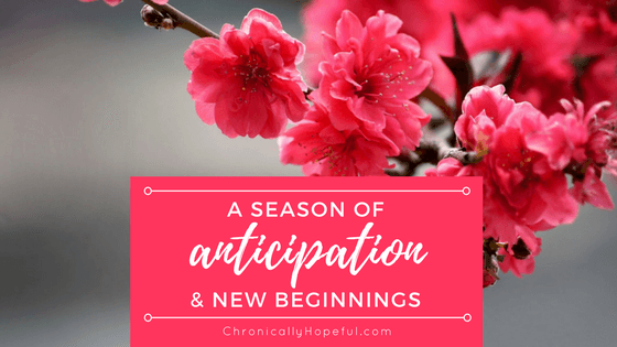 A season of anticipation, chronic voice link-up, BLOG