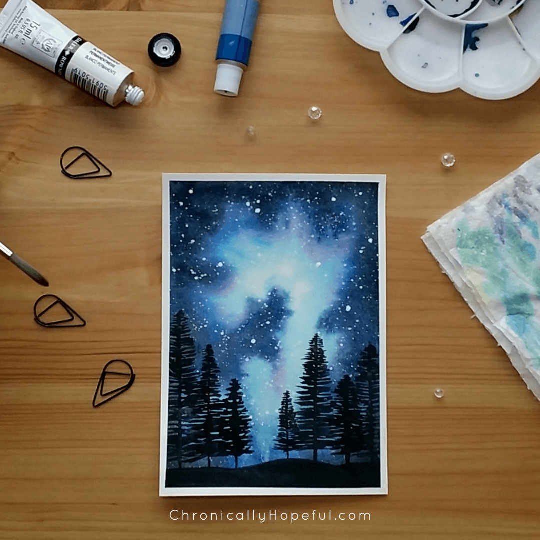 100 Day Project, Night Skies, Galaxies