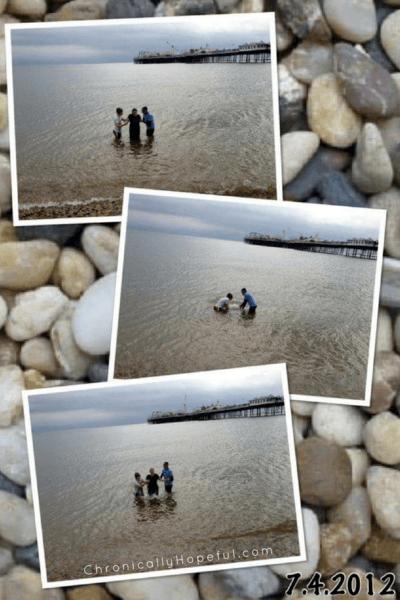 My Baptism, Brighton 2012