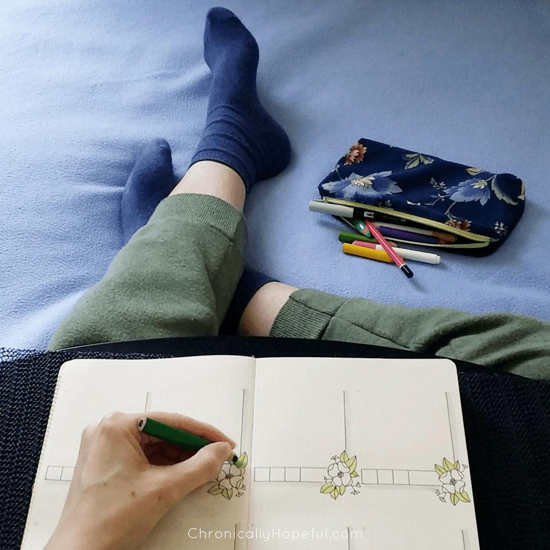 Journaling, Chronically Hopeful