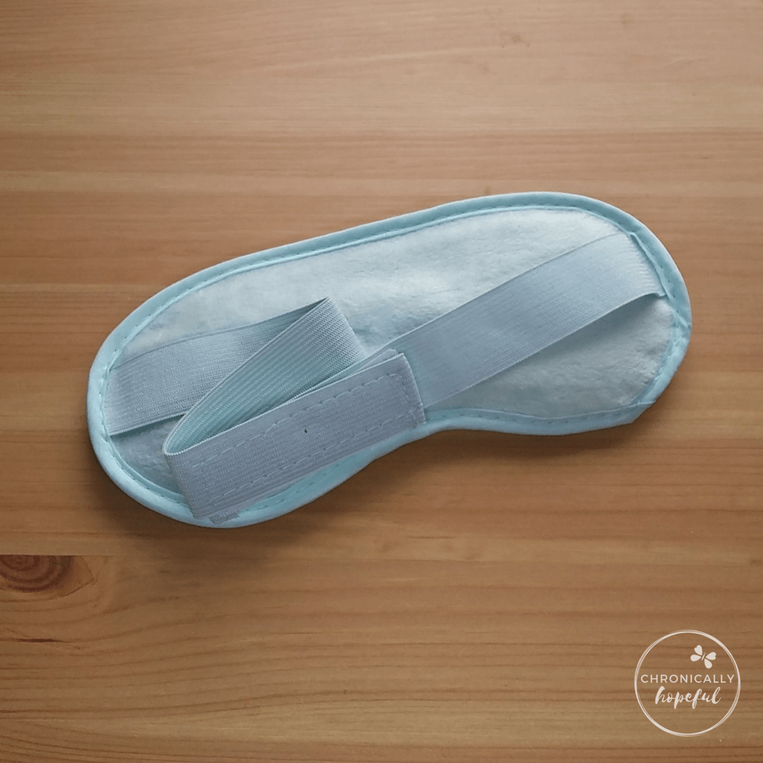 Cooling Eye Mask for Headaches, Chronically Hopeful