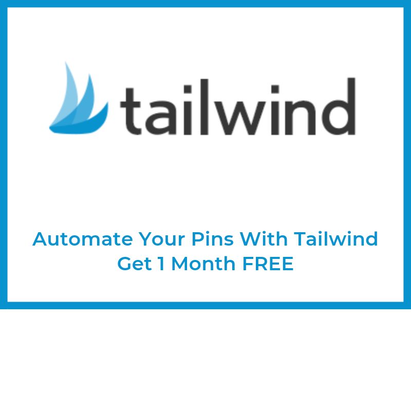 Get 1 month of Tailwind FREE!