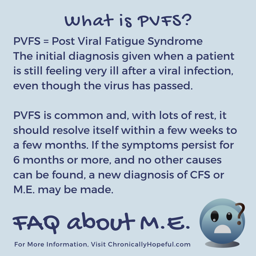FAQ about M.E. What is PVFS?