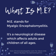 What is M.E?