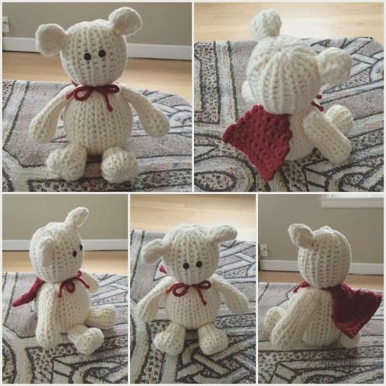 Crochet by Sara Santiago - amigurumi bear