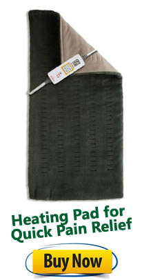 Heating Pad for Quick Pain Relief