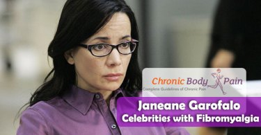 Janeane Garofalo Celebrities with Fibromyalgia