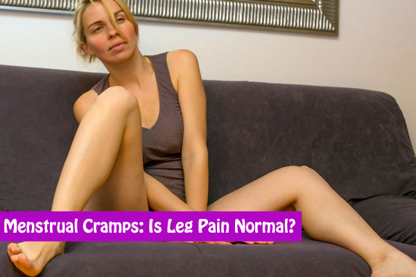 menstrual cramps in legs
