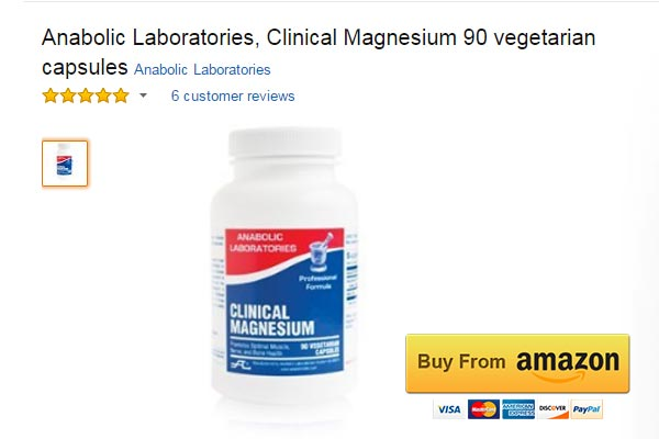 Anabolic Laboratories Magnesium for Muscle Spasms