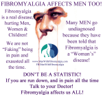Men With Fibromyalgia