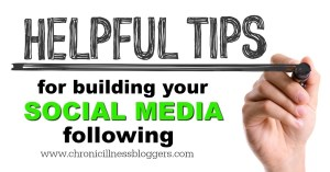 Helpful tips for building your social media following