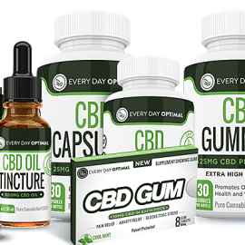 Everyday Optimal CBD Review+WIN a bundle of products.