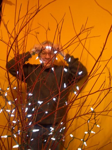 Chronic Illness Christmas Lite - experimenting with inexpensive easy Christmas Trees