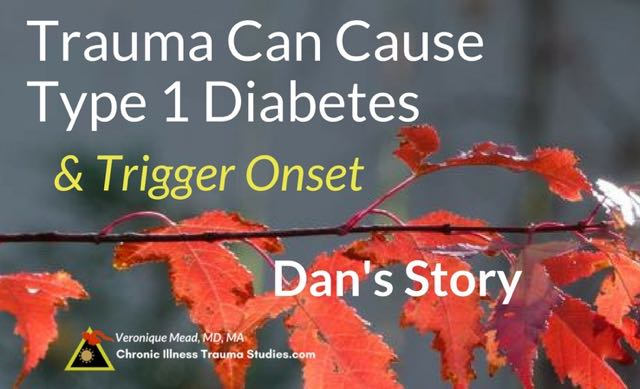 Trauma that triggers type 1 diabetes is often the last in a series of serious life events. Stress, trauma and other adverse life events increase risk for type 1 diabetes in the years before onset and can trigger onset as well. Here's the science.