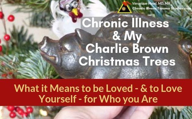Charlie Brown Christmas Decorations.Chronic Illness Charlie Brown Christmas Trees Being Loved
