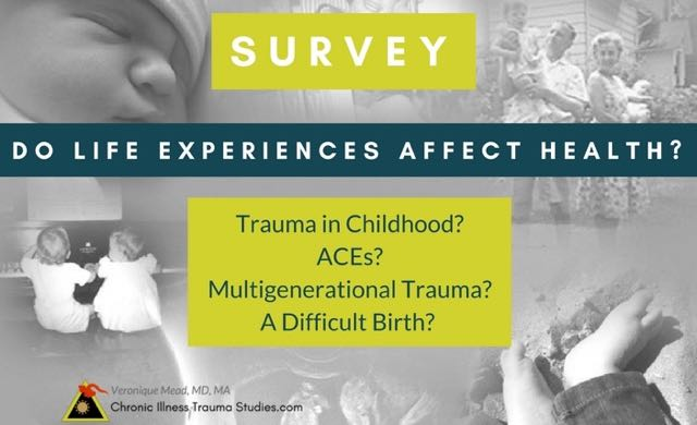 Do Adverse Life Experiences Affect Health? Take the HALE Survey if you have great health or a chronic illness or other health condition.