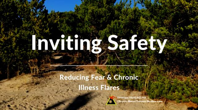 Inviting safety reduces fear stress flares chronic illness, PTSD, complex PTSD and other effects of childhood trauma and ACEs Mead CITS